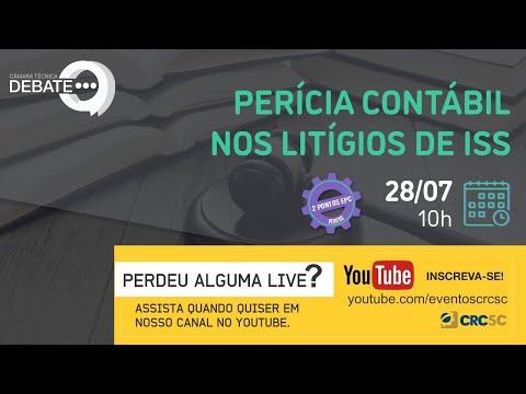 """Câmara Técnica Debate """"PERÍCIA CONTÁBIL nos Litígios de ISS"""""""