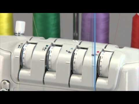 Juki MO-1000 Jet-Air Serger Overlock Sewing Machine