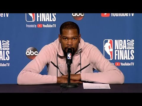 Kevin Durant Postgame Interview - Game 3 | Warriors vs Cavaliers | June 6, 2018 | 2018 NBA Finals