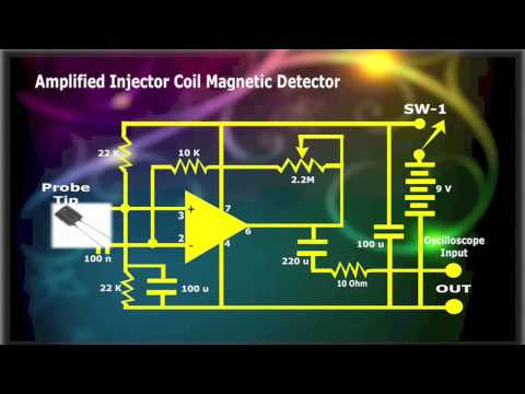 Amplified Injector & Coil Magnetic Detector