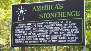 Creepy Places Of New England: America's Stonehenge