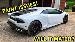 Rebuilding A Wrecked Lamborghini Huracan Part 13