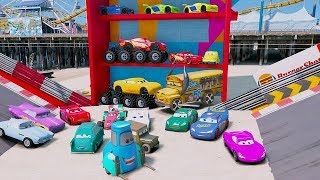 Video Cars 3 Colors Jackson Storm Fabulous Lightning McQueen Cruz Ramirez Tow Mater Mack Truck Dinoco MP3, 3GP, MP4, WEBM, AVI, FLV Juli 2017
