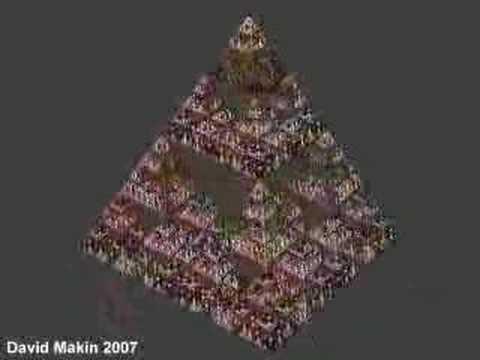 3D IFS fractal:Sierpinski Tetrahedron revisited