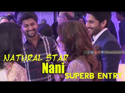 Natural Star Nani REAL Behaviour Will SHOCK You | Naga Chaitanya Samantha Reception Video | NewsQube