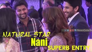 Video Natural Star Nani REAL Behaviour Will SHOCK You | Naga Chaitanya Samantha Reception Video | NewsQube MP3, 3GP, MP4, WEBM, AVI, FLV November 2017