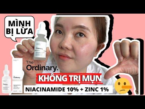 Sự Thật Về THE ORDINARY NIACINAMIDE 10% ZINC 1% TRỊ MỤN?! - Công Dụng THẬT của NIACINAMIDE