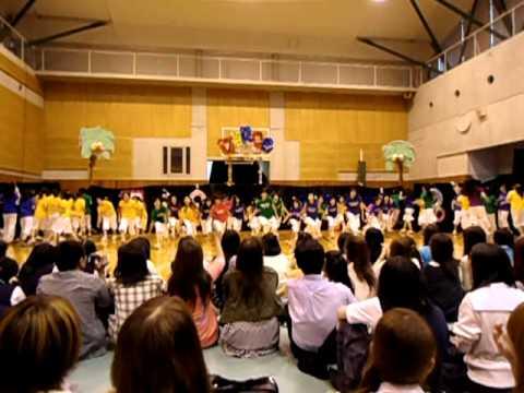 桐光学園 (中学校 高等学校) 文化祭 輝緑祭 ダンス部 動画 STEPS 5.6.7.8