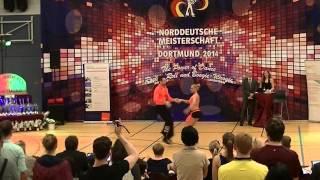 Ayline Spielmann & Philipp Sauter - Norddeutsche Meisterschaft 2014