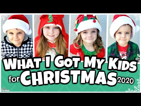 WHAT I GOT MT KIDS FOR CHRISTMAS 2020! 🎄 2 Girls and 2 Boys!