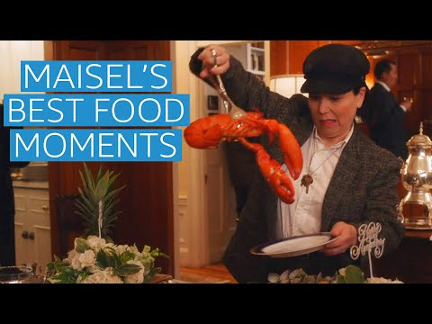 The Marvelous Mrs. Maisel Best Food Moments | Prime Video