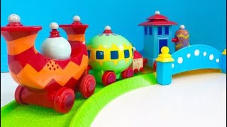 NINKY NONK Train IN THE NIGHT GARDEN Toys Learning Letters!