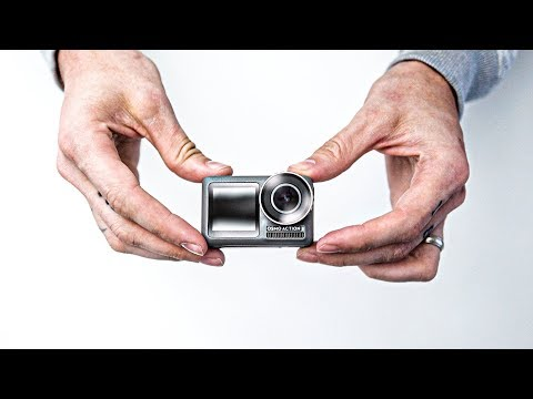 DJI OSMO ACTION - FIRST LOOK & COMPARISON