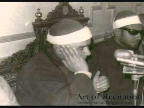 An old 1960's Quran Recitation video of Sheikh Mustafa Ismail Reciting Sura Isra