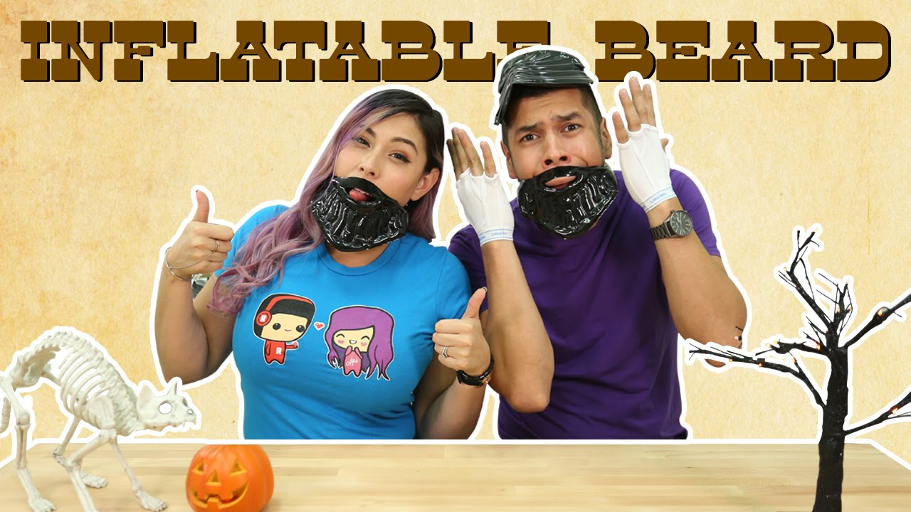 Inflatable Beard – Lets Get Weird!