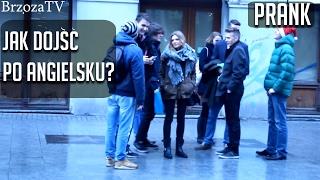 Jak dojdę po angielsku sprawdzanie jak Polacy potrafią Angielski :)