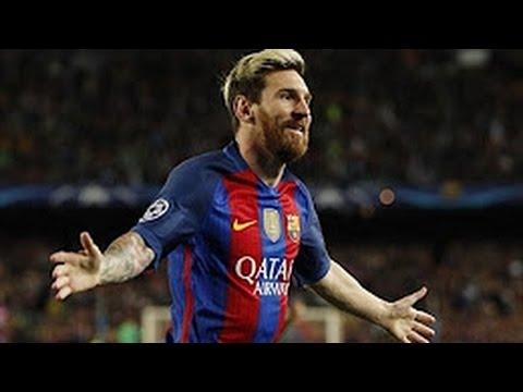 Lionel Messi Hattrick Goal - FC Barcelona vs Manchester City 4-0 (Champions League) HD