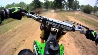 5. Kawasaki kx250f (2008)Circuit Motocross de BAIGNEAUX le 14/07/2013