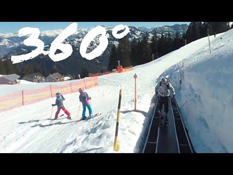 360° Pizol: Förderband Pardiel (Zauberteppich)