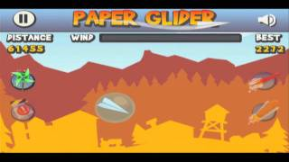 Paper Glider YouTube video