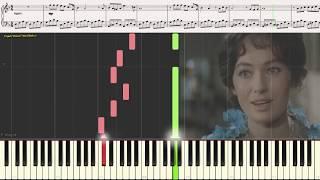 Под лаской плюшевого пледа (лёгкий фрагмент) (Ноты и Видеоурок для фортепиано) (piano cover)