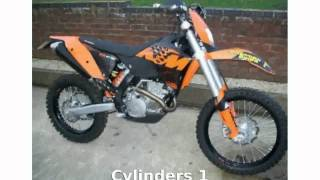 10. 2008 KTM XC 250 F - Specs and Specification