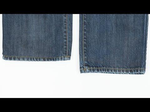 How to Hem Jeans While Keeping Original Hem