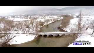 نبع البوسنة في الشتاء
