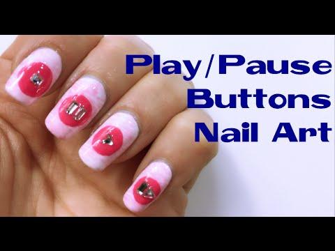 nail art - tasti play e stop!