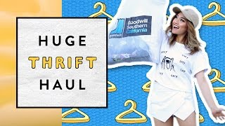 Huge Thrift Haul by Clothes Encounters