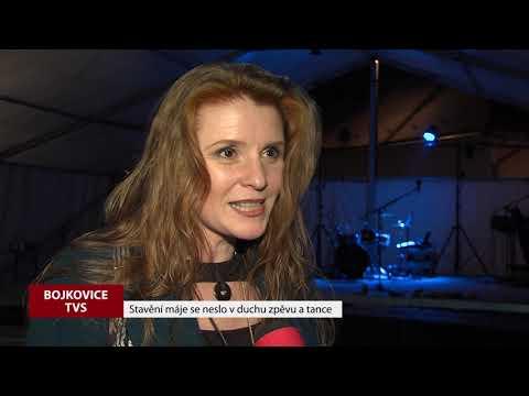 TVS: Bojkovice - Stavění máje