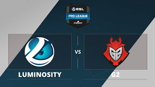 Luminosity vs G2, game 1