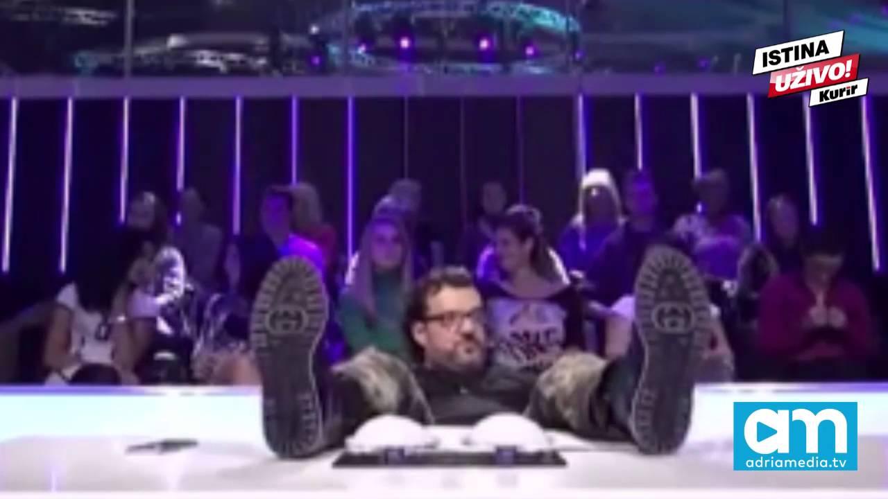 Aca Lukas pao sa stolice usred snimanja