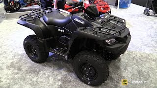 7. 2017 Suzuki King Quad 500 AXi 4x4 Recreational ATV - Walkaround - 2016 AIMExpo Orlando