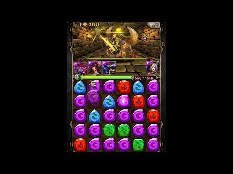 神魔之塔 – 挑戰極限!四張卡片過輪迴!