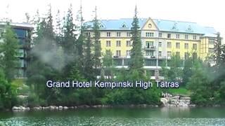 strbske Pleso Slovakia  City new picture : Grand Hotel Kempinski High Tatras, Štrbské Pleso, Vysoké Tatry (Slowakije / Slovakia), 6 juli 2015