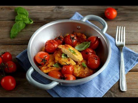 polpette di ricotta e pomodorini - ricetta