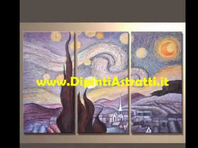 Quadri moderni dipinti olio su tela per camera da letto con ...