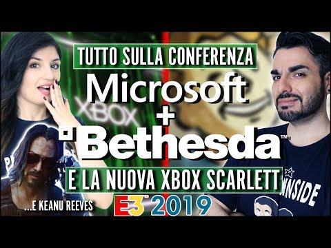 E3 2019: MICROSOFT | BETHESDA - TUTTI gli ANNUNCI e NUOVA XBOX SCARLETT (data, specifiche)