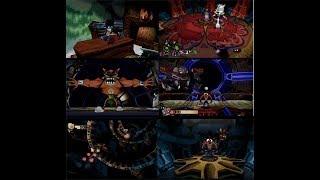 Crash Bandicoot 2 Cortex no Gyakushuu! (Japanese Version) - Cartoon Mode - All Bosses