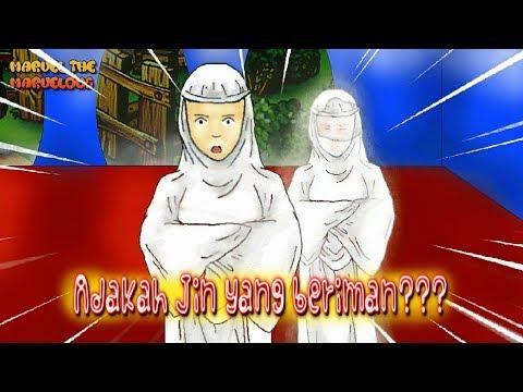 kartun hantu lucu ep. 37 - Jin penjaga yang beriman