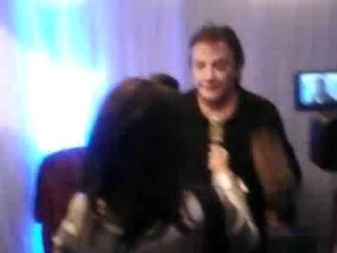 Entrevista com Fábio Júnior antes do show em Itabira dia 09/10/2011