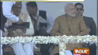 Khandwa India  City new picture : PM Modi Reaches MP's Khandwa - India TV