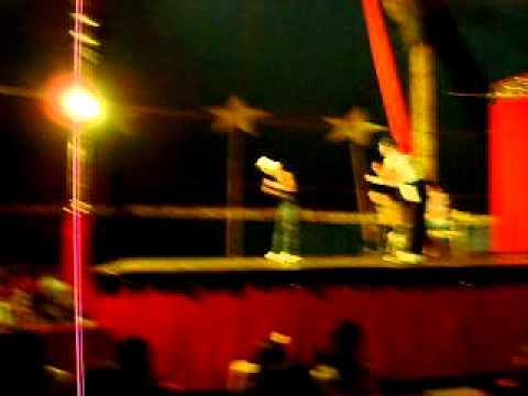 Star Circus Em Andradina sp Com participação de alex xinguim