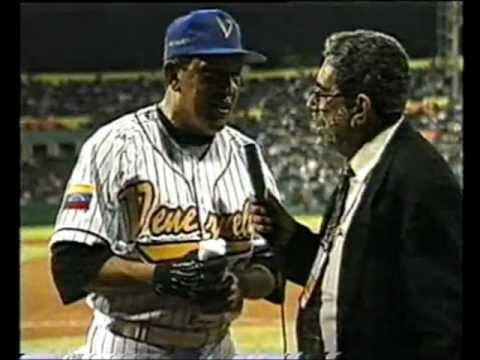 Hugo Chávez el beisbolista
