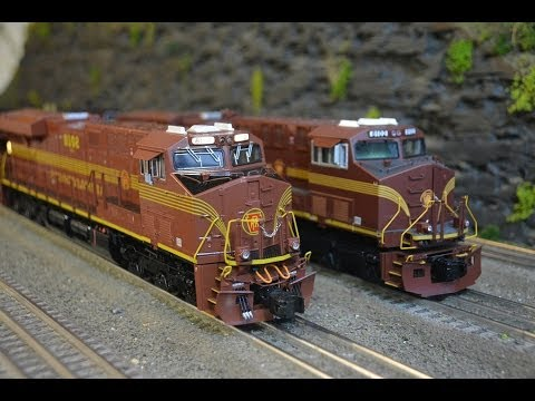 ES44AC - Hi Everyone! Watch and decide who you think made the better PRR Norfolk Southern Heritage Unit! I Personally love both for different reasons. Lionel and MTH ...