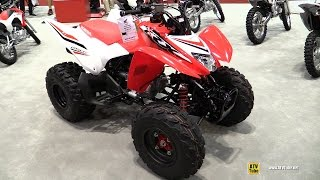 4. 2017 Honda TRX250X Sport ATV - Walkaround - 2016 EIMExpo Orlando