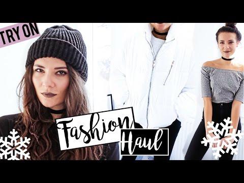 XXL TRY ON FASHION HAUL Dezember 2016 (видео)