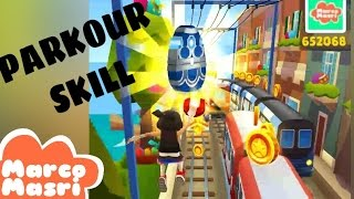 PARKOUR SKILL in Subway Surfers
