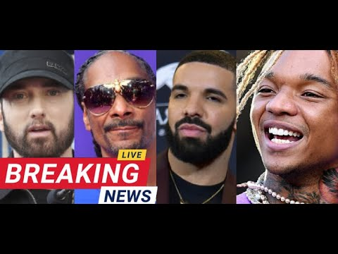 Eminem Diss Snoop Dogg and Warns Drake on Zues, Swae Lee LIVE with Guy Who HAs Lost Hard Drive